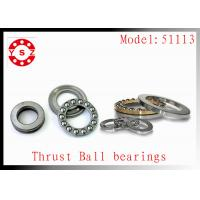 NTN Timken 51113 Bearings Stainless Steel Genuine For Pump High Accuracy Manufactures
