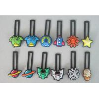 Cartoon Design Soft PVC Shoe Charms with black belt for Slipper Manufactures