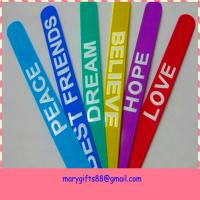hot selling fashion rubber silicone slap bracelet Manufactures