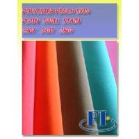 Polyester Peach Skin Manufactures