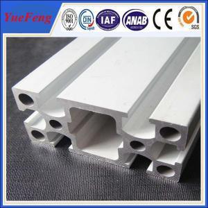 6000 series Custom Industrial Anodized Aluminum Profile square T slot aluminum profile Manufactures