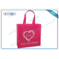 Quality full sewing shoulder customer logo printing with cross stiching handle and bottom gussects for sale