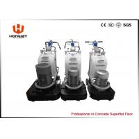 China Wet / Dry Type Marble Floor Grinding Machine Square Design Good Heat Radiation on sale