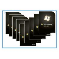 China DVD 32 Bit / 64 Bit Home Microsoft Windows 7 Ultimate Product Key Softwares OEM on sale