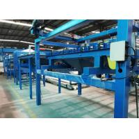 SGS Rock Wool Sandwich Panel Line Max Panel 10m With Hydraulic Bandsaw Cutting Manufactures