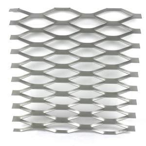 Curtain Wall Diamond Mesh Sheet Aluminum Expanded Metal Mesh Decoration Manufactures