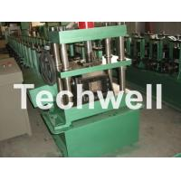GCr15 Steel Roller, High Speed Shelf Roll Forming Machine For 1.8 - 2.3mm Material Manufactures