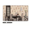 Buy cheap 2018 latest design European flower design PVC wallpaper washable waterproof from wholesalers