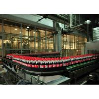 China Soda Beverage Production Line Automatic 200-600 Cans Per Minute Fast Speed on sale