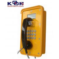 Dual Tone Multi Frequency DTMF Waterproof Telephone VOIP Line Ac Powered Manufactures