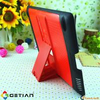 Simple Red iPad Protective Cases with Stand , New Cover For iPad Mini Manufactures