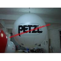 0.4mm Fireproof PVC Advertising Helium Balloons With Digital Printing For Trade Show Manufactures