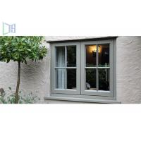 Aluminium Casement Double Glazing Tempered Glass Window Environment-Friendly Manufactures