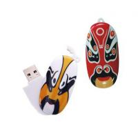 Cool Face 4GB Customized USB Flash Drive With High Speed Flash Memory Manufactures