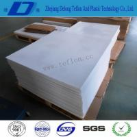 Anti-corrosion Moulded Teflon Ptfe Sheet / Slide Block Slippers / Sealing Lined Materials Manufactures