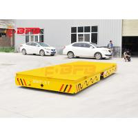 Cylinder Objects Trackless Transfer Cart 100T Bearing Power V Frame Customized Size Manufactures