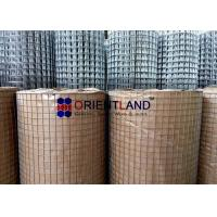 China 2x2 Welded Wire Mesh Concrete Square Rectangle Hole Shape 5m-30m Length on sale