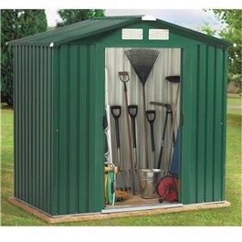 10x8ft metal garden shed pad-lockable sliding double doors Manufactures