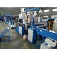 Algeria Building Cable Making Machine , Pvc Cable Extruder Machine For 2 Worker Manufactures