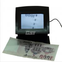 Euro/ USD counterfeit bill detector with IR, UV detections, 3.5 inch large screen Manufactures