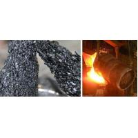Quality 99SiC Black Silicon Carbide Steel additive for Steel Industry for sale