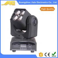New 4pcs 10w  4in1 Led Mini Moving Head Light Wash Zoom Light Dj Lights Manufactures