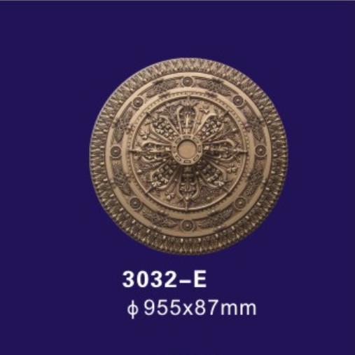 Quality Antique Bronze Polyurethane Ceiling Medallion , Decorative Plaster Medallion Molds for sale