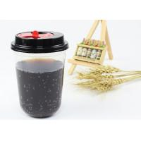 Party Design Juice Tea Coffee PP Plastic Cup , Clear Plastic Cups With Lids Manufactures