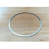 Customized Chemical Etched Thin Metal Flat Ring Gaskets , Stainless Steel Metal Ring Gasket Manufactures