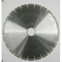 Fast Cutting Speed Durable Diamond Saw Blades For Cutting Granite / Marble Manufactures