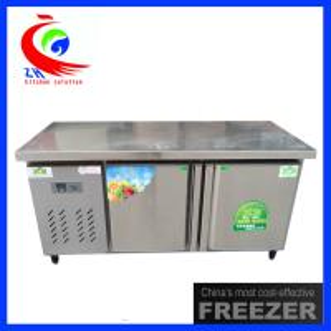 China Counter Type Restaurant  Storage Horizontal Refrigeration Equipment 400L on sale