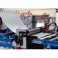 China High Speed Grain Silo Corrugated Sheet Roll Forming Machine With PLC Control on sale