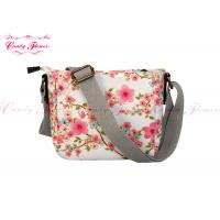 China Flower Print small Girls Messenger Bags , Cross body bags for women on sale