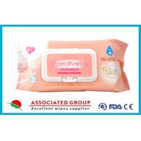 Ultra Soft Disposable Baby Wet Wipes / Wet Tissue For Baby , 80 Sheets Per Pack