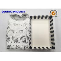 100% Cotton Baby Clothes Gift Set 3 Pack Bodysuits For Infants OEM Available for sale