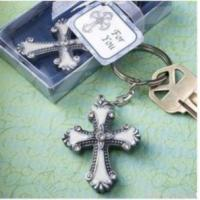 Buy cheap Keychain With Cross Charm Wedding Favors Party Gifts from wholesalers