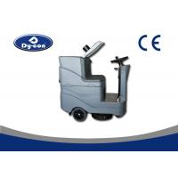 Battery Powered Floor Scrubber Dryer Machine Ametec Suction Motor Low Noise Manufactures