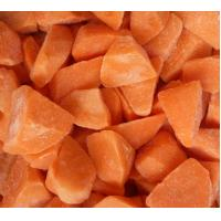 Full Nutritions Contained Frozen Diced Carrots Fresh Vegetable Frozen Process Flow Manufactures