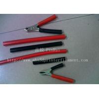 Red / Black Plastic Flexible Hose For Alligator Clip , Wire Harnesses , Transformers Manufactures