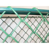 PVC coated sports field chain wire fence ,chain mesh fence Manufactures