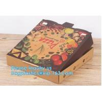 Cheap Paper Pizza Box Corrugated Carton Box With Printed Logo,Personalized Custom Printed Carton Box Paper Cookie Pizza Manufactures
