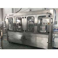 5000 Bph Rinsing Capping Filling Water Machine 3 In 1 For Mineral Pure Water Manufactures