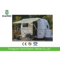 Easy Towing Camper Van Trailer , Compact Lightweight Rv Trailers With Awning Manufactures