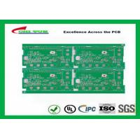 Green Solder Mask Single Layer PCB Design With Immersion Gold Fr4 1.6mm 2oz