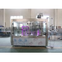 CE Automatic Drinking Water Filling Plant For Non-Carbonated / Drink Manufactures