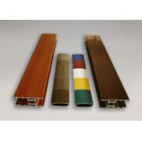 Wood Grain Powder Coating Aluminium Extruded Products H Channel Extrusion Manufactures