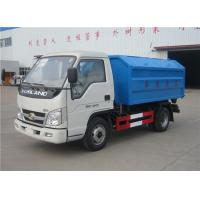 Forland 3m3 Rubbish Removal Truck , Hydraulic Arm Waste Garbage Truck Manufactures