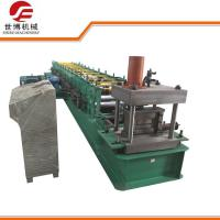 Buy cheap Semi - Automatic C Section Cold Roll Forming Machine For Steel Frame , 0-25m/Min from wholesalers