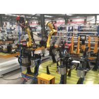 Palletizing Robotic Welding Workcell With Dual Zone Cells 5~50mm/S Manufactures