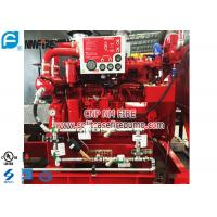Holland Original DeMaas Fire Pump Diesel Engine 52KW With Low Speed , UL Listed Manufactures